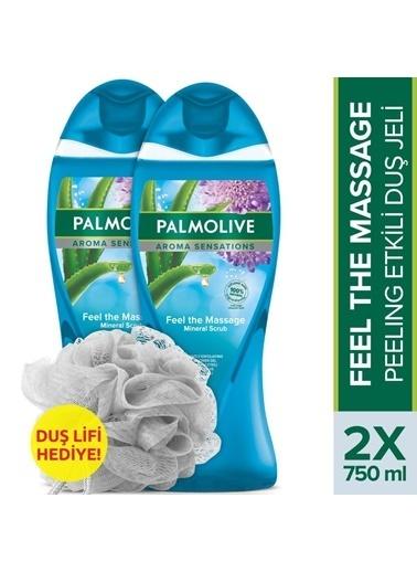 Palmolive Palmolive vücut Yağı Böğürtlen Keyfi 2'li Duş Jeli 500 ml ve Duş Lifi Hediyeli Renksiz